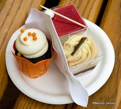Dessert Trio from 2013 Epcot Food and Wine Festival #Disney #EpcotF&W I ate the whole thing!