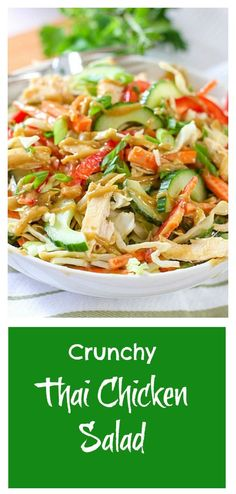 Crunchy Thai Chicken