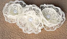 DIY lace flowers for a headband?