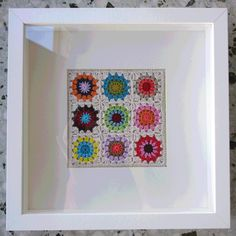 granny square art ... love this