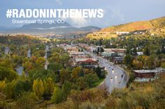 Steamboat Springs, CO - Routt County categorized as high risk for radon exposure