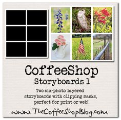The CoffeeShop Blog: Free Storyboard Templates: CoffeeShop Storyboards 1!