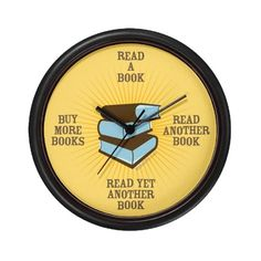 libraries, books, time, avid reader, wall clocks, bookworm, book clock, thing, book lover