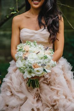 Ruffles and pretty blooms