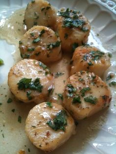 cilantro lime scallops