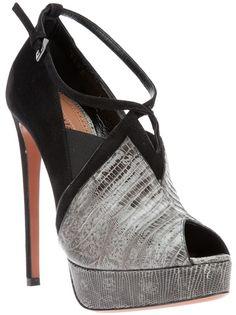 ALAÏA Peep-Toe Shoe