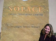 Andrea, a SWC Counseling Intern, works at Solace Crisis Treatment Center in sunny Santa Fe, NM