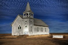 This church is in Wellsford Kansas.