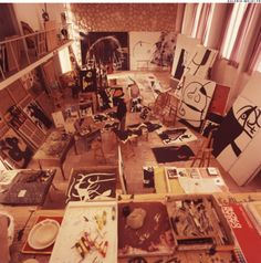miro in his workshop