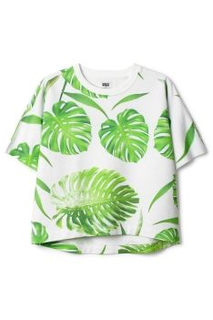 palm leaf print, shirt, palm leav