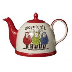 tea time, bit sheepish, teapots, tea pot, knit