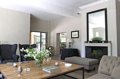 greige: interior design ideas and inspiration for the transitional home : French Simple and earthy...