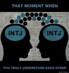 INTJ - love the feeling... wait, do we have those? :)