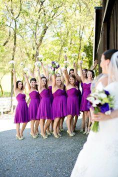 #purple #bridesmaid