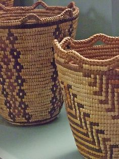Multipurpose Native American Baskets from tribes of the Columbia River Basin