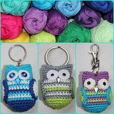 Owl Keychain!