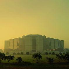 Louis Kahn, National Assembly, Dhaka