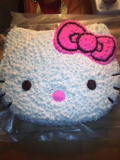 hello kitti, pink cakes, hello kitty cake, hello kitty birthday, girl birthday cakes, food, birthdays, cake recipes, cake batter