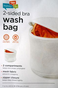 Bra care - Bra wash bag (Great product!)