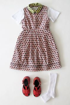 The contrast collar is still a strong trend look for kids at Marni children summer 2013 via smudgetikka.com