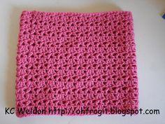 Oh Frog It!: Free Crochet Pattern - Hadley Lace Cowl