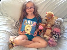 The book Arlo Needs Glasses - a book for kids that needs glasses!  Check out Belle and her pet puppies all with glasses on! #arloneedsglasses      You can see a video review and learn more about the book at: http://www.amblyopiakids.com/2012/06/review-of-arlo-needs-glasses.html