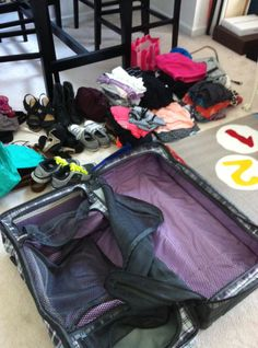 How to pack for a long-term Europe Trip :: on You Can Go Your Own Way #packing #travel