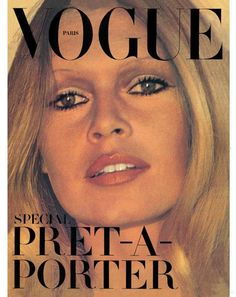 Brigitte Bardot. Vogue Paris, October 1971.