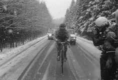 .....Bernard Hinault in the snow!