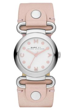 Feeling pretty with this soft pink watch | Marc by Marc Jacobs