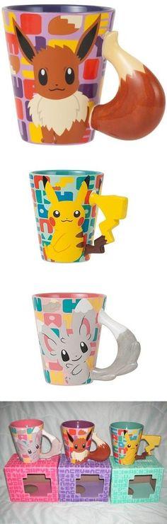 Cute! Pokémon mugs