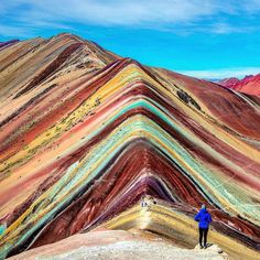 Rainbow Mountain, Pe