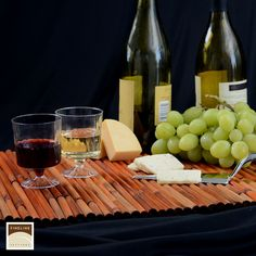 Wine tasting done right! Plastic disposable wine cups and goblets are part of our Flairware collection. http://www.finelinesettings.com/Flairware-Stemware