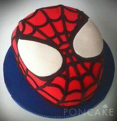 Spiderman Cake - Torta de Spiderman - Torta del Hombre Araña