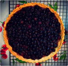 Blueberry Tart for Biz — Redeeming the Table #grain-free #paleo/primal