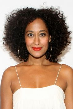 Ross' big, fluffy curls make her one of our favorite naturalista hair crushes.