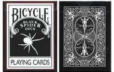 Bicycle Black Spider Playing Cards. #playingcards #poker #games