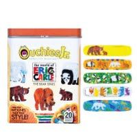 Eric Carle Bandages The Bear Series- Ouchies Jr. Bandages are a stylish way to protect cuts and scratches. While the colorful designs spark kids' imaginations, these adhesive bandages safeguard them from infections. Box of 20 trendy and colorful bandages.