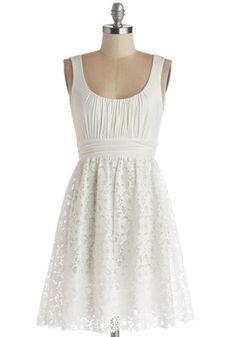 Coconut Iced Tea Dress, #ModCloth