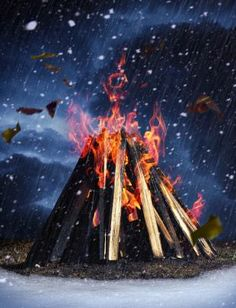 Build A Bad Weather Fire. It's often when you need a fire most—during rain, wind, or snow—that it's the hardest to start. Here's how to do it.