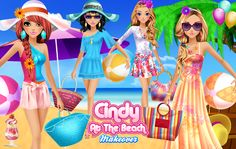 Hello ladies! How would you feel about a weekend at the beach? ***  #Game's link: http://www.girlgames4u.com/cindy-at-the-beach-makeover-game.html <3 <3 <3