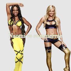 Wwe Superstar Naomi Vs Summer Rae