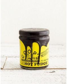 COOP'S HANDMADE HOT FUDGE JAR