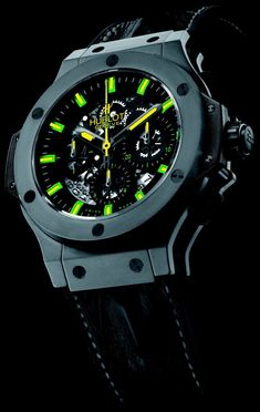 Hublot Big Bang Watch For Architect Oscar Niemeyer