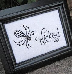 "FREE! ""Wicked"" - Stitchery Pattern - Seen on Studio 5"