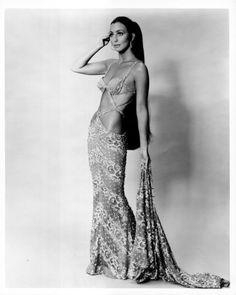 Cher in Bob Mackie, circa 1970.