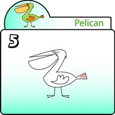 step by step Pelican