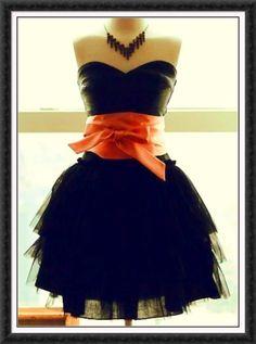 Orange & black style