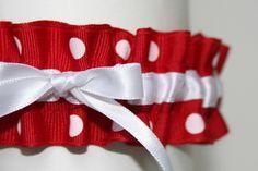 red polka dot wedding - Google Search
