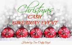 Sew Crafty Angel: Blogger Opportunity with a Christmas CASH Giveaway...
